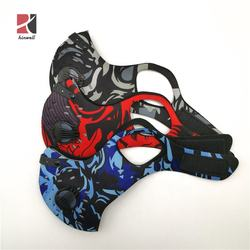 Cycling PM2.5 bicycle Activated Carbon Filter motorcycle pattern sport gear Riding protective gear sport mask