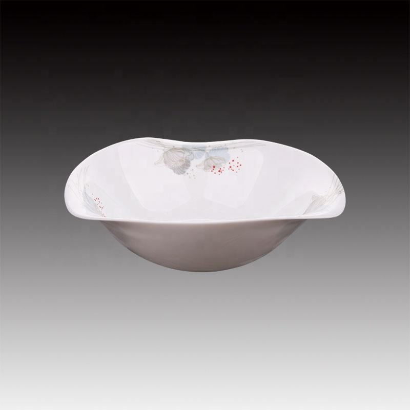 printing opal glassware dinnerware in opal glass bowl set