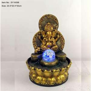 Hot Selling Gold Hars Indoor Ganesh Water Fontein