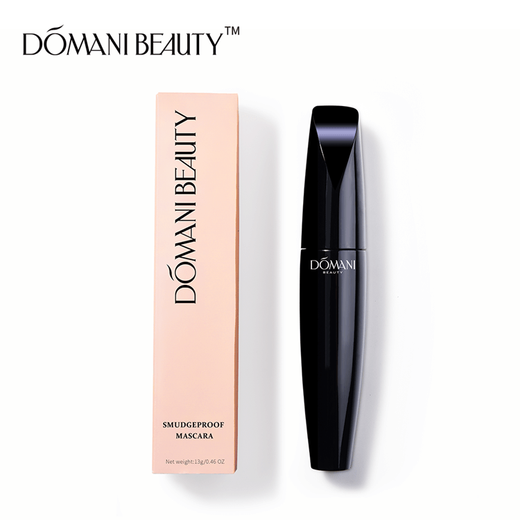 Domani Beauty Manufacturer Long Lasting Easy Clean Gel Cosmetics Private Label Vegan Waterproof Black Eyelash Tube Eye Mascara