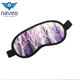 Chinese factory wholesale funny satin cotton eye cover travel 3d sleep custom eye mask
