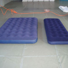 BSCI audit factory Inflatable flocked air mattress
