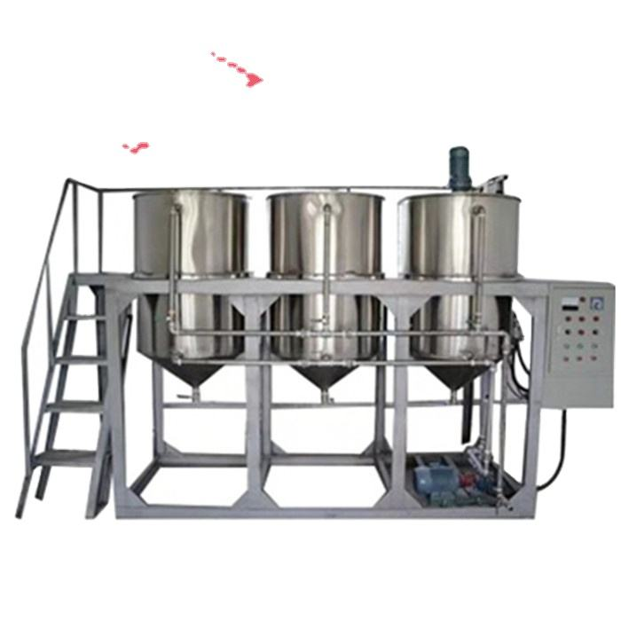 edible palm bleached machinery cooking small scale refinery soyabean oil refined