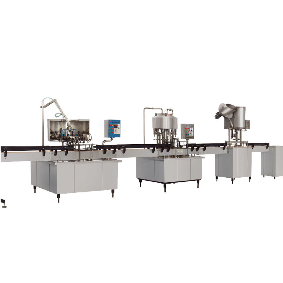 Small Factory Linear Type LGF12-12-1 Bottled Pure Mineral Water Washing Filling Capping Machine Production Line