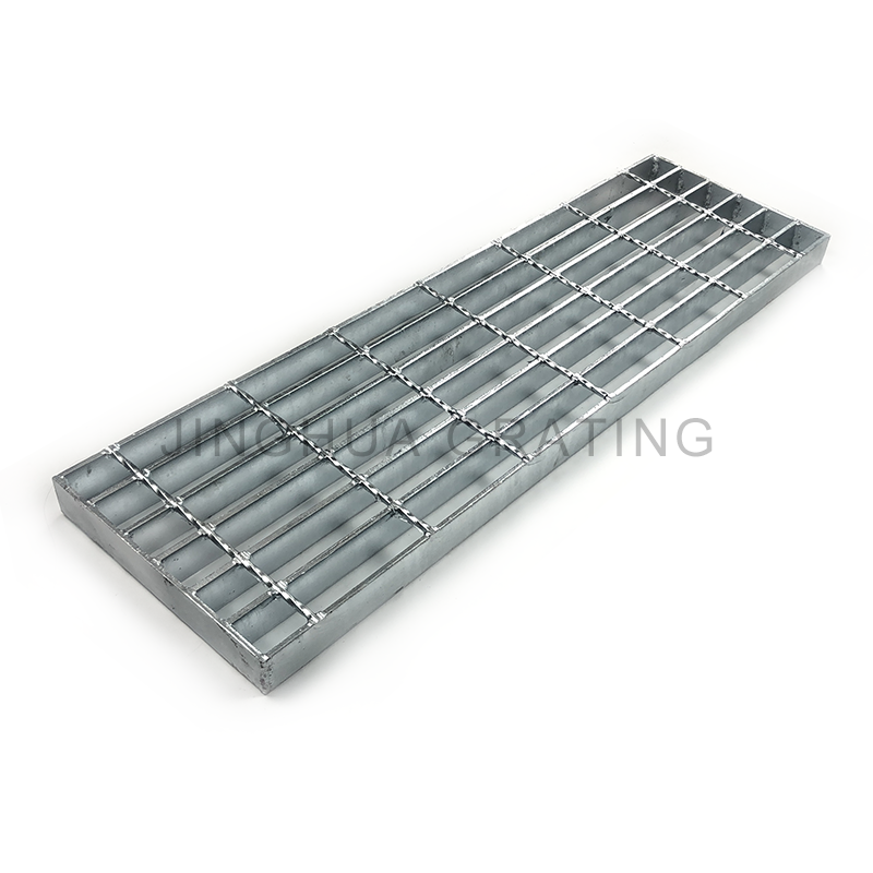 hot dipped galvanized for bridge Horizontal Scupper Drain Grating 32*5mm Steel Bar Grate Weight Construction Material