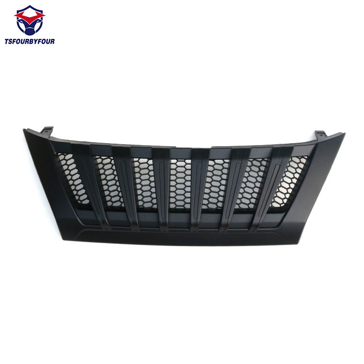 ABS schwarz Cover Front Grille For Fortuner 2016 2018 accesorios