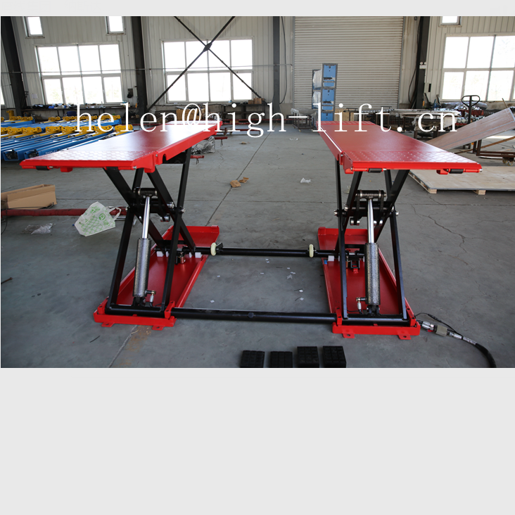 Factory Price mid rise mobile scissor car lift vehicle lift for sale