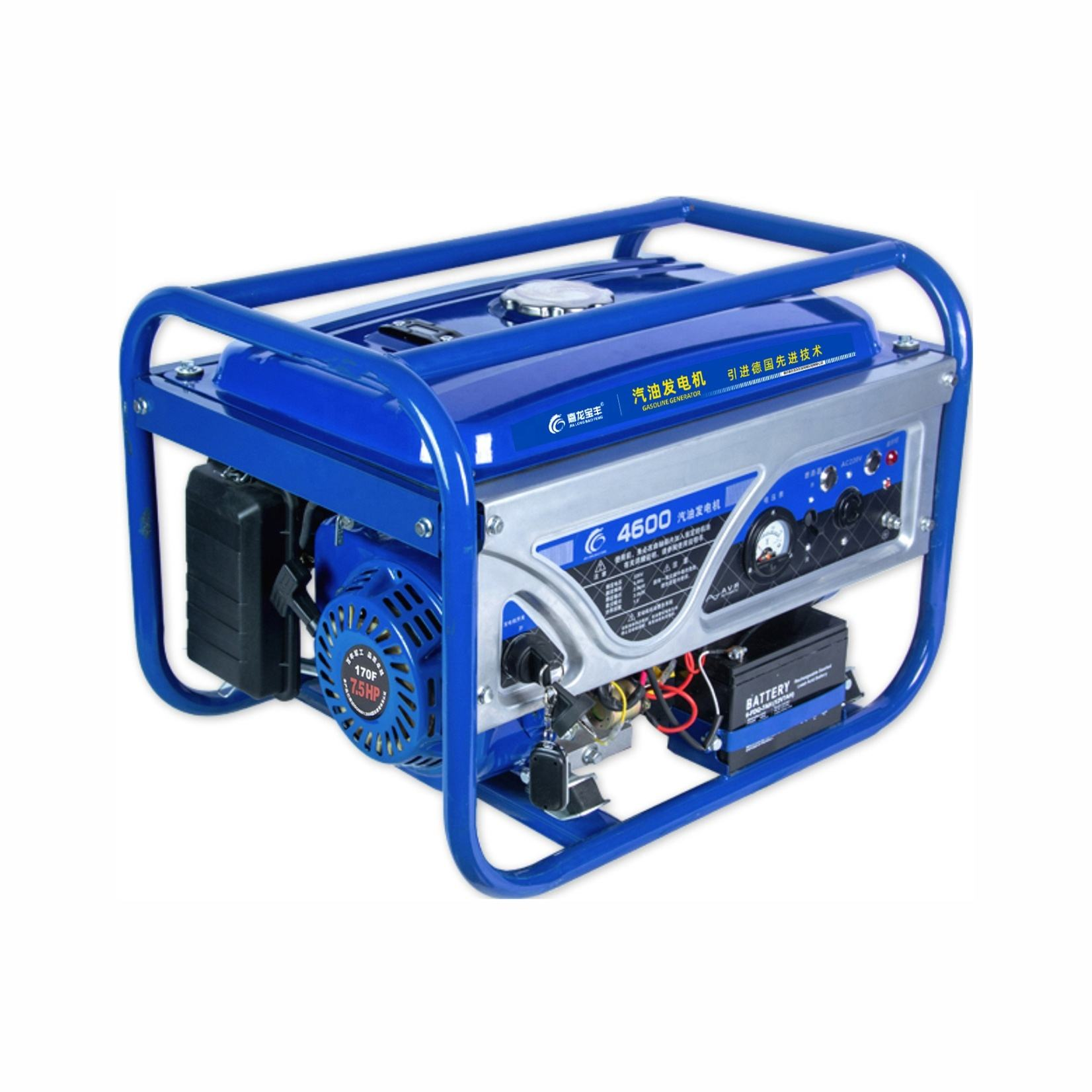 7.5hp OHV Electric Start Gasoline Engine Generator 2kw 3kw Price