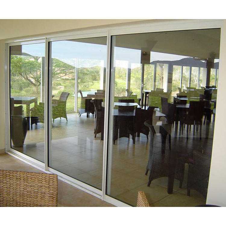 aluminum alloy glass bathroom door design sliding door system