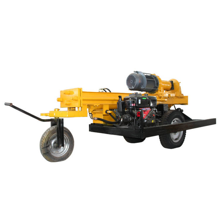 Pneumatic DTH Drilling Rig Water Borehole Drilling Machine for Sale