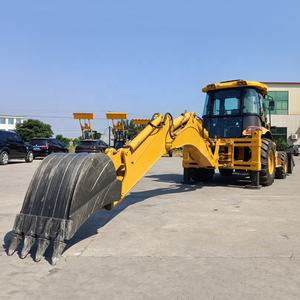 JA870K Wheel Loader Kecil Taman Traktor Backhoe Loader JCB 4cx Backhoe Loader