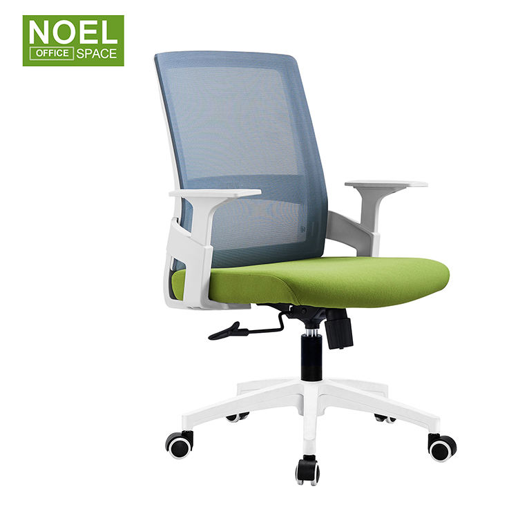 Office furniture mid back staff mesh conference room chair