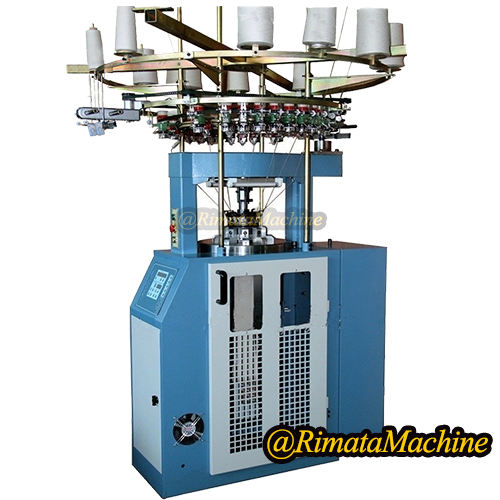 Computerized Rib Cuff Circular Knitting Machine