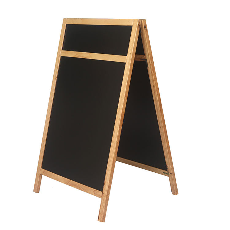 Decorative Photo Frame Dyr Erase Board Woodrn Customized Magnetic Double Sided Chalkboard Paint Free Standing A-board