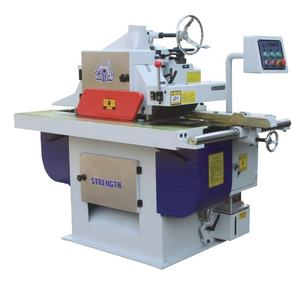 Woodworking single blade straight line rip machine laser cut wood