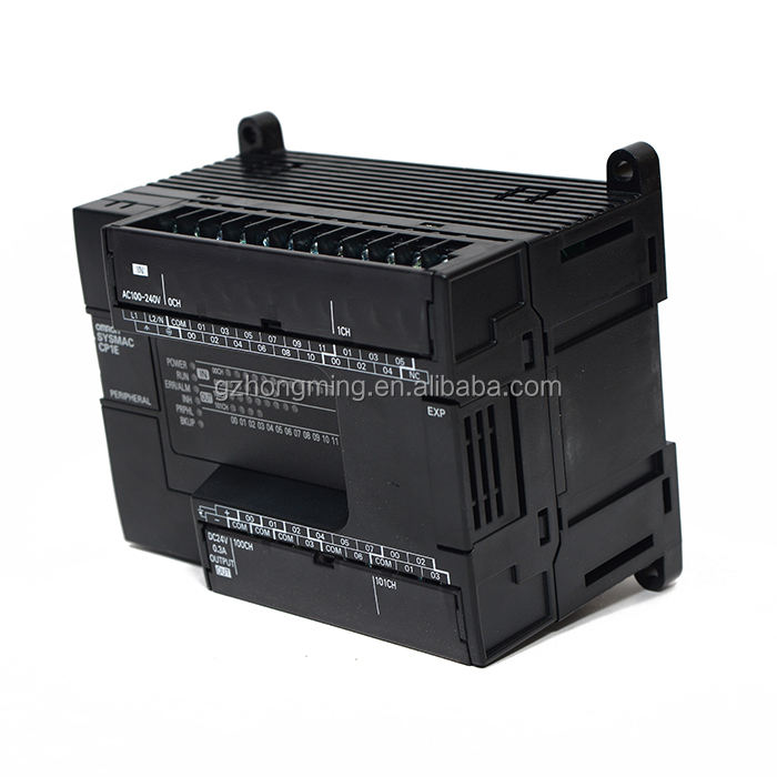 Hot sales Omron CP1E series CP1E-N60DR-A PLC with AC100~240V 8K steps