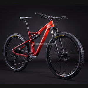 Dubbele Ophanging Geen Opvouwbare 13.5Kg China Carbon Fiets Mountainbike 27.5 Voor Mannen/Vrouwen