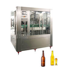 Automatic Glass Bottle Small Beer Filling Machine / Beer Rinser Filler Capper