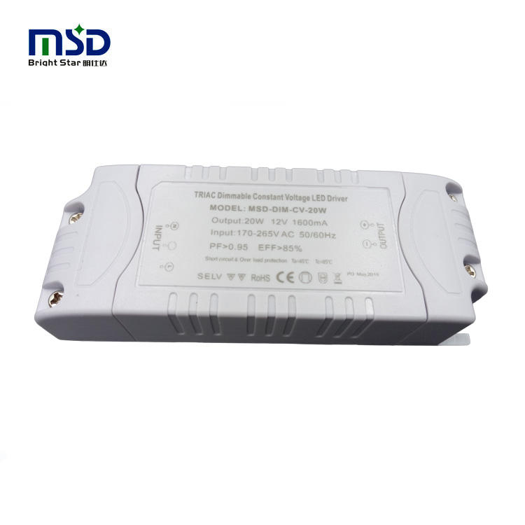 12W 20W 30W 60W 80W TRIAC dimmable constant voltage led driver