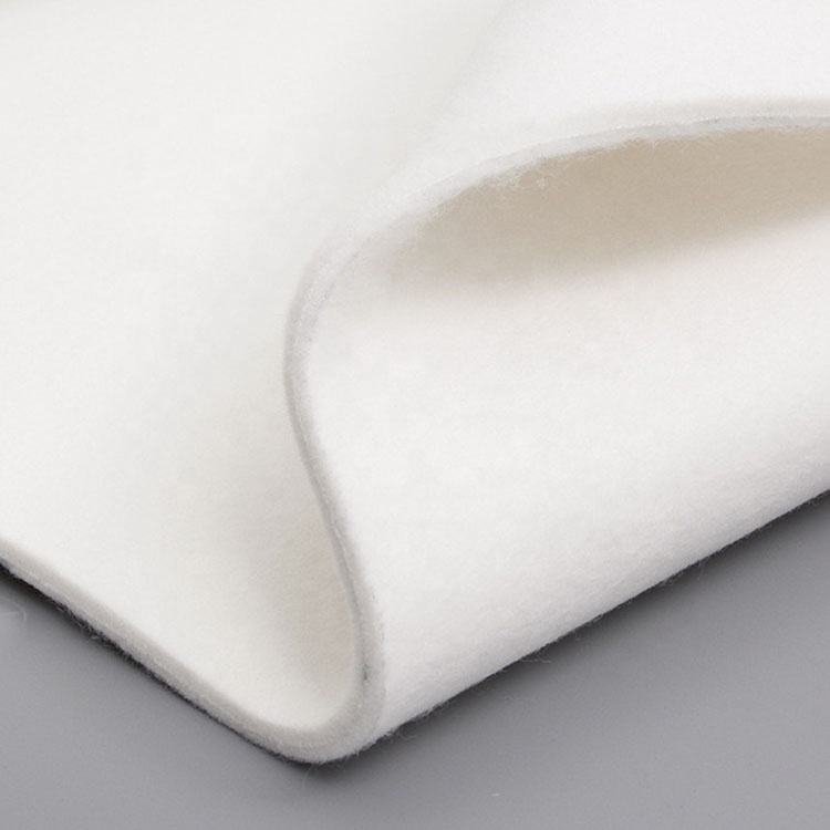 China good price nonwoven wool felt fabric 3mm 4mm 5mm thick 100% of needle punched with manufacturer