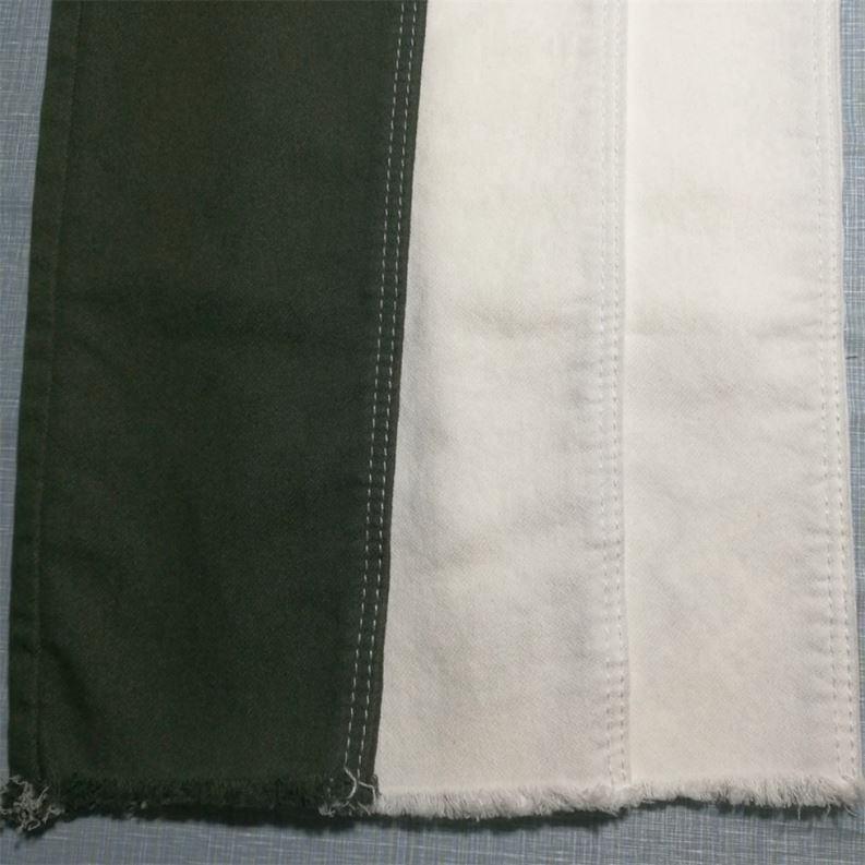 Прямая продажа с фабрики темно-синий хлопкового материала на основе спандекса, выполнено в цветовой гамме ткань для брюк