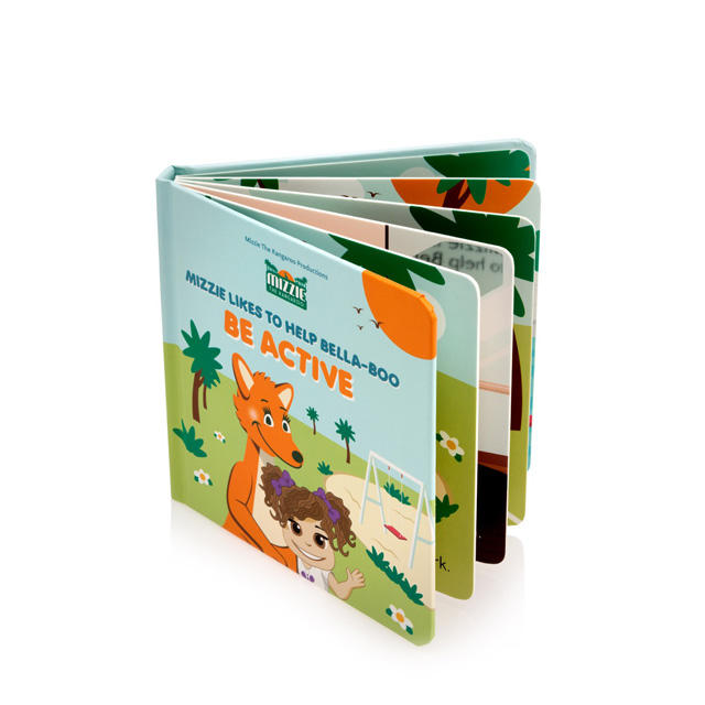 Colorful Story Book Picture Kids Board Book Printing