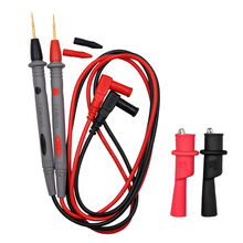 1000V 20A super sharp Silicone  Alligator Clip Test Leads n for multimeter