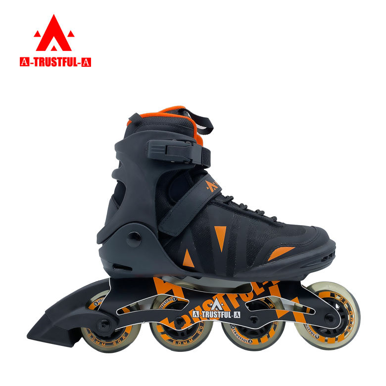 Professional Four Wheel Patines Electric Roller Skate Shoes Inline Speed Skate