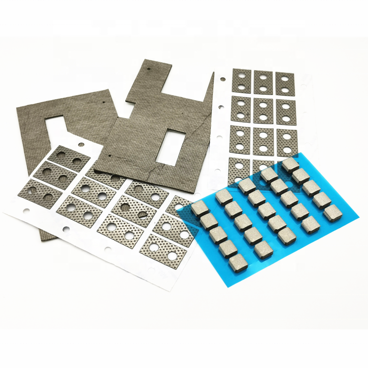 Customizable EMI shielding material die cutting omnidirectional electrical conductive foam sponge gasket