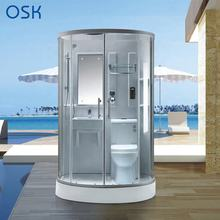 Multi-functional Bath Shower with WC Ceramic Toilet and Basin