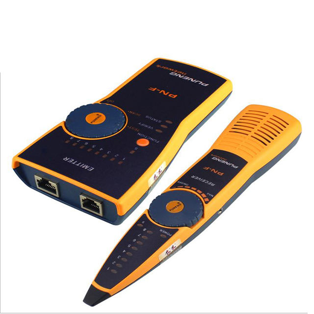 Network Cable Tester RJ11 RJ45 Cat5 Cat6 Network Cable Wire Tracker Telephone Cable Detector Finder