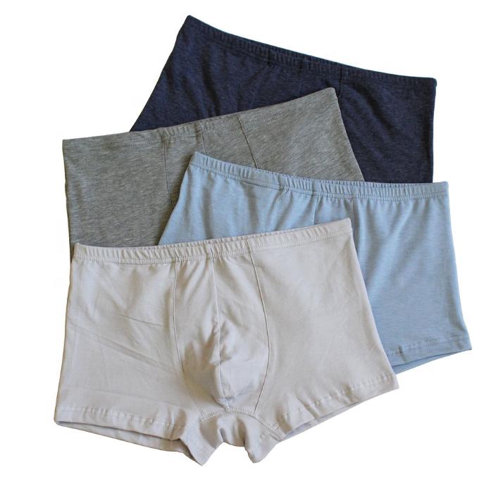 مخصص الرجال ليكرا القطن تنفس حجم كبير الملابس الداخلية سلس دنة السراويل سراويل داخلية للرجال