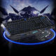 Wired mouse keyboard set, seven colors keys mouse three colors backlit gaming keyboard mouse combos, mouse & keyboard
