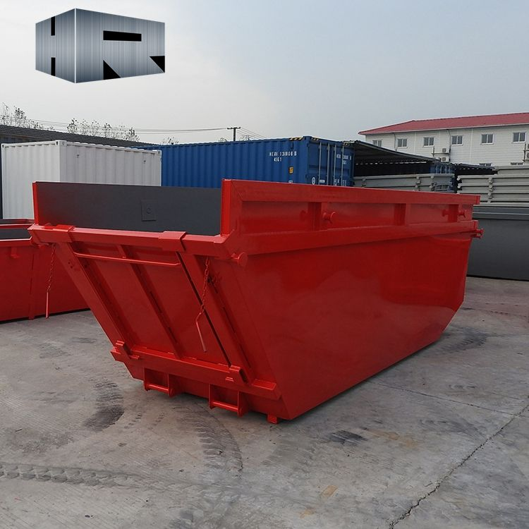 8cbm recycling waste bin large garbage skip container skip bins