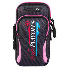 Fast dispatch on line selling Letters Pattern Sport Running Riding Arm Bag Case For Cell Phone Multifunctional Neoprene Arm Bag