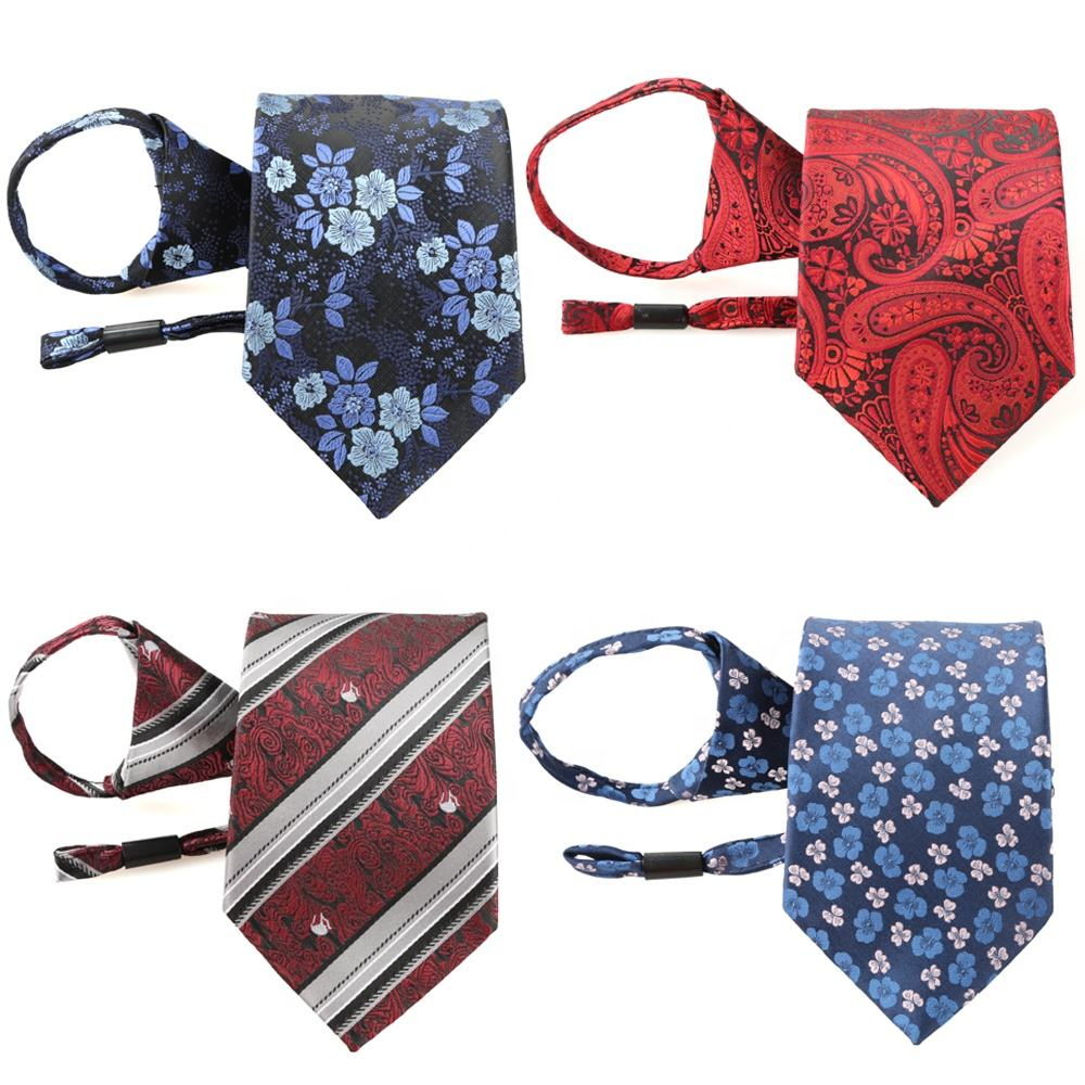 Custom Flower Paisley Fashion Silk Ties Men