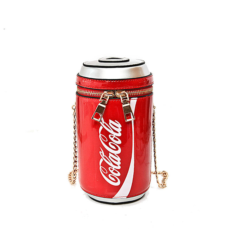 2020 new design unique coke shaped handbag for women handbag for ladies mini coke purses for women change purses mobile purses