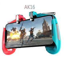 Multi-function AK16 usb mobile phone eat chicken artifact handle quick fire button assistant pubg mobile game controller