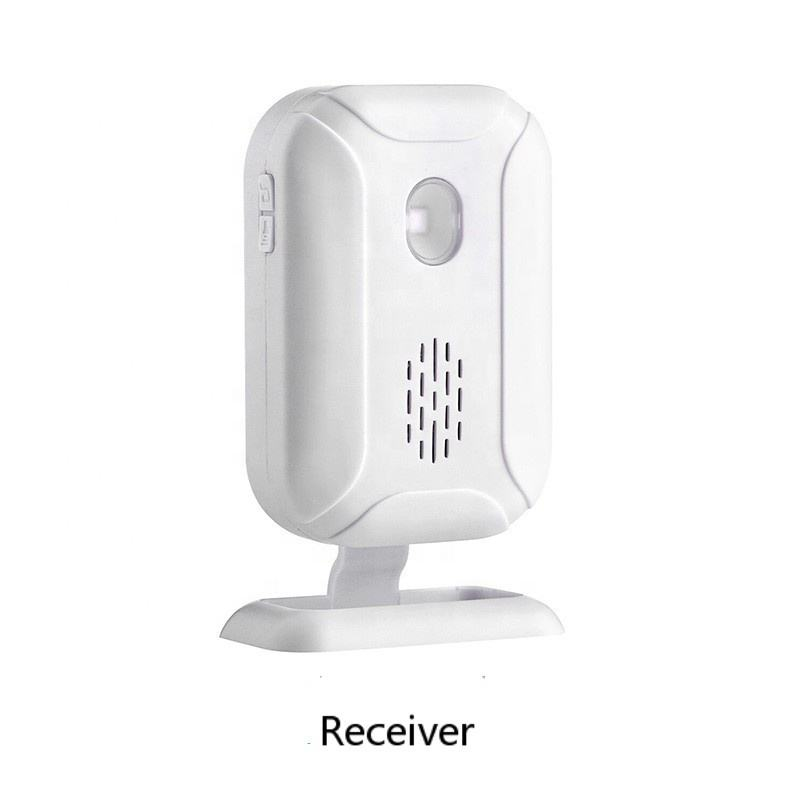 Wireless Doorbell PIR Store Shop Entry Welcome Motion Sensor Infrared Detector Induction Alarm Door Bell 5 Functions Night Light