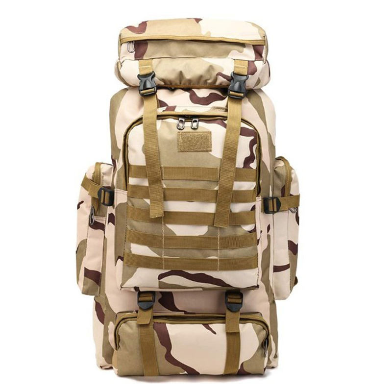 Customize 80l military hiking backpack bag tactical molle rucksack for camping hiking traveling