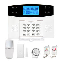 Wireless Smart Home Security GSM Alarm With Remote Control