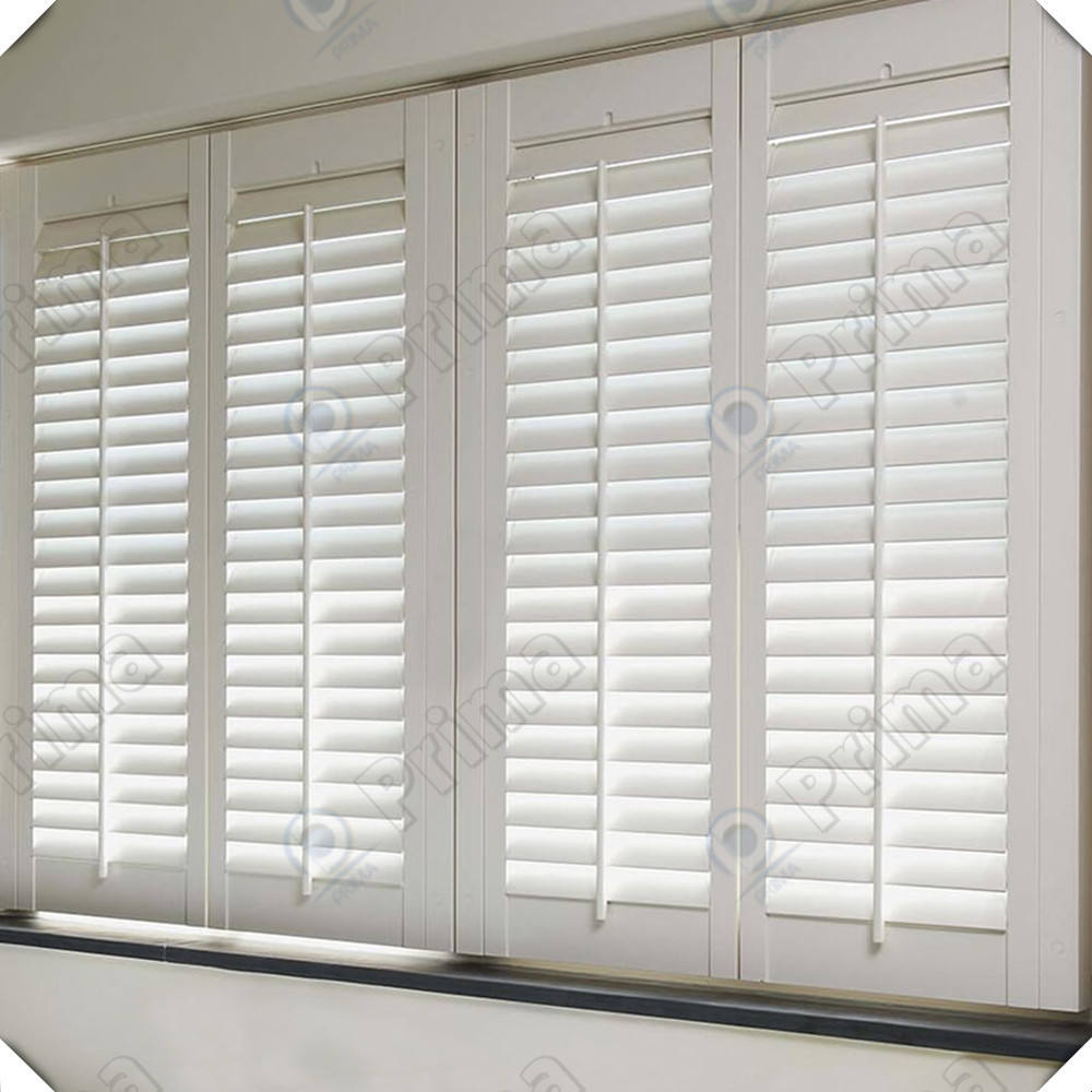 Decorative window panels sound insulation fixed louver windows