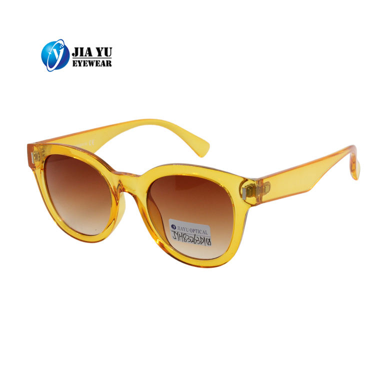High Quality Clear Brown Frame Anti Glare Polarized Amber Sunglasses