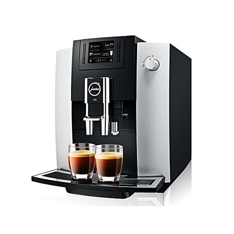 JURA E6 Fully Automatic Coffee Machine Home Office Espresso Fancy Milk Froth Coffee Machine