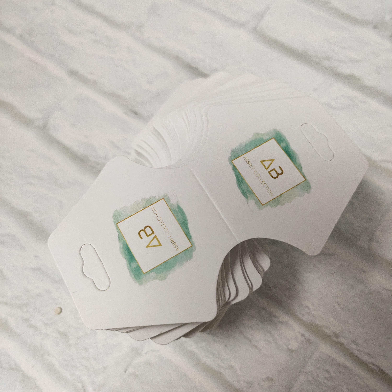 100 PCS por encargo de la Ronda etiquetas colgantes boda personalizado del favor del regalo etiquetas de papel