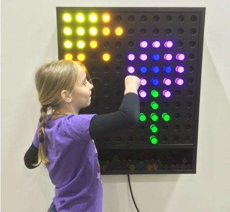 電子遊び場giants lite brite