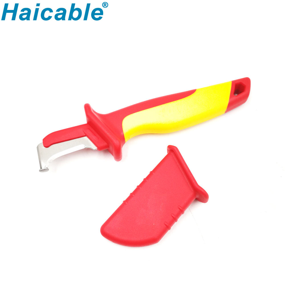 VDE Cable Stripper Knife With Hook Blade WX-32 Mini hand stripping tools