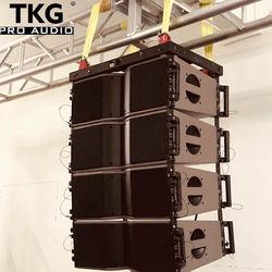 TKG MF 400W HF 80W dual 8 inch LA KARA 8 inch line array speaker