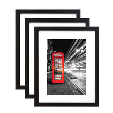 4X6 5X7 A4 Europe style Black decorative wall black photo frame