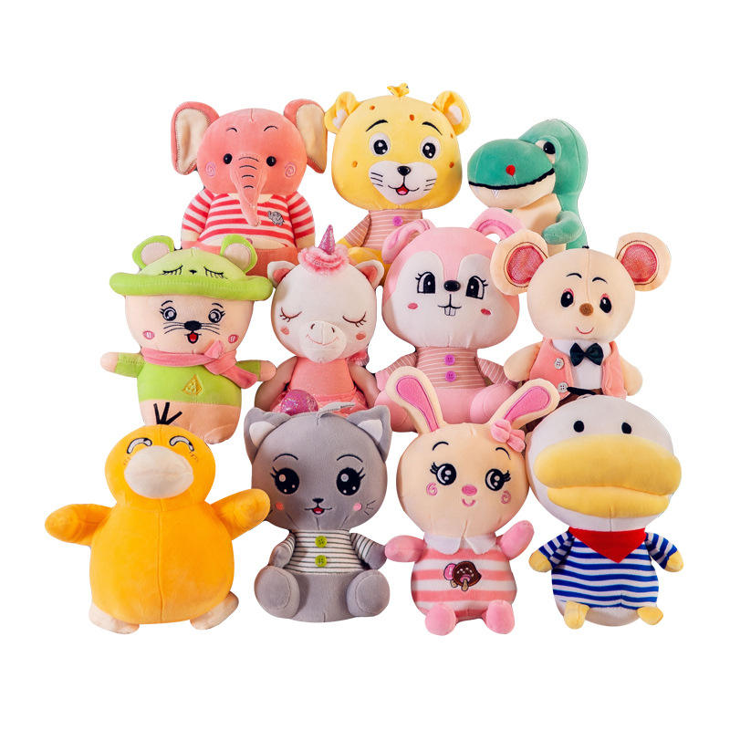 Custom Plush Toy Soft Wild Animals Toys Stuffed Weighted Plush Toys